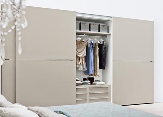 sliding bedroom wardrobe