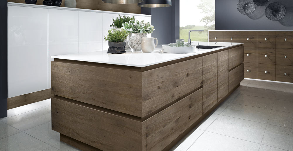 passion snow split oak kitchen island