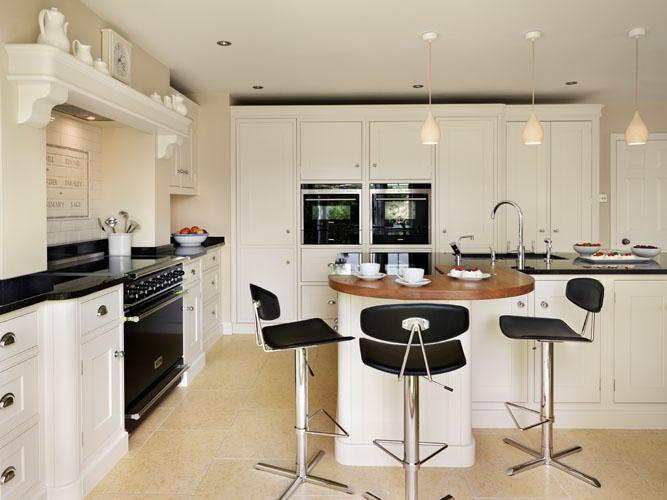 shaker kitchen range