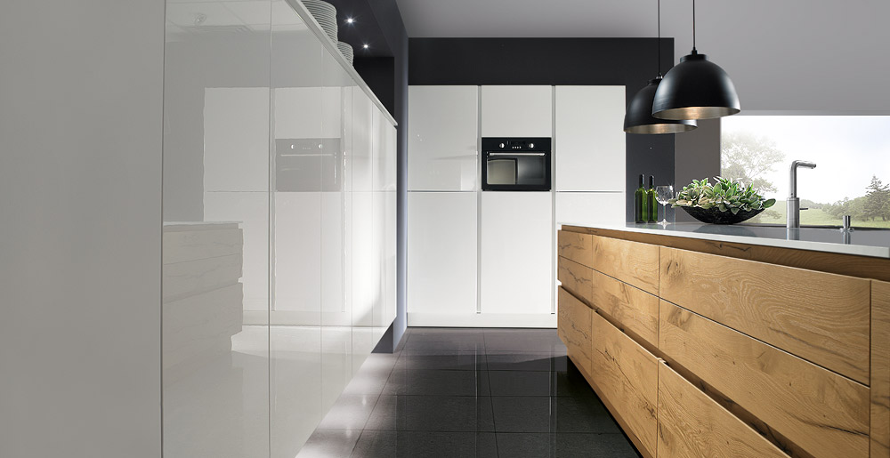 split oak natural passion kitchen range
